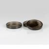 Pianounderlägg i transparent brun plast - Pianomagasinet