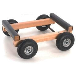 Pianovagn med luftfyllda hjul - Pianomagasinet