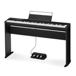 Digitalpiano, CASIO PRIVIA PX-S1000 BK med benställning CS-68 BK och trepedalställ SP-34 - Pianomagasinet