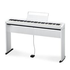 Digitalpiano, CASIO PRIVIA PX-S1000 WH med benställning CS-68 WH