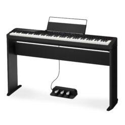 Digitalpiano, CASIO PRIVIA PX-S3000 BK med benställning CS-68 BK och trepedalställ SP-34 - Pianomagasinet