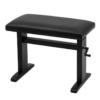 JAHN hydraulisk pianopall i matt svart med vevhandtag, Skaisvart - Pianomagasinet