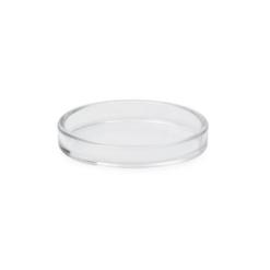 Flygelunderlägg i transparent plast, 80 mm innerdiameter - Pianomagasinet
