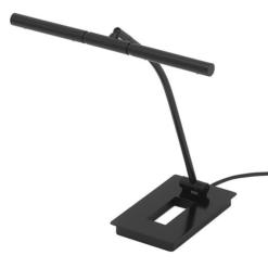 "Pianolampa ""Forte"", blank svart - Pianomagasinet"