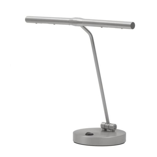 "Pianolampa ""Piano"" i platina med LED-belysning - Pianomagasinet"