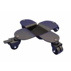 Svarta flygelhjul med bromsade hjul av plast - Pianomagasinet