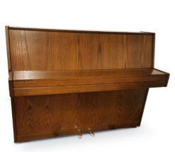Akustiskt piano, Nordiska Piano modell Futura 2 i mörk valnöt - Pianomagasinet