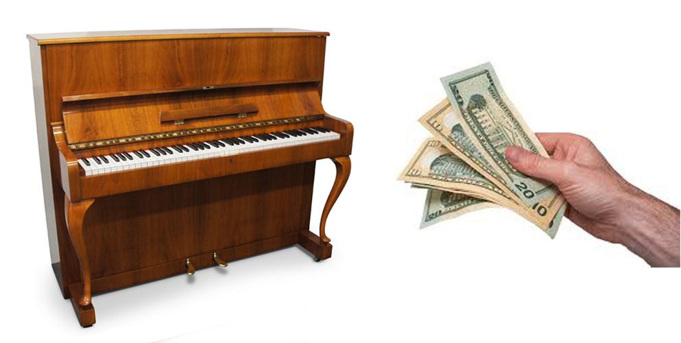 Vi köper akustiska begagnade pianon - Pianomagasinet